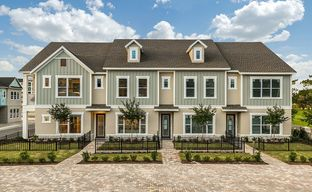Griffin Park - Townhome Series by David Weekley Homes in Orlando Florida
