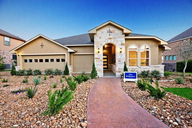 Ridgegate Plan, New Braunfels, Texas 78130