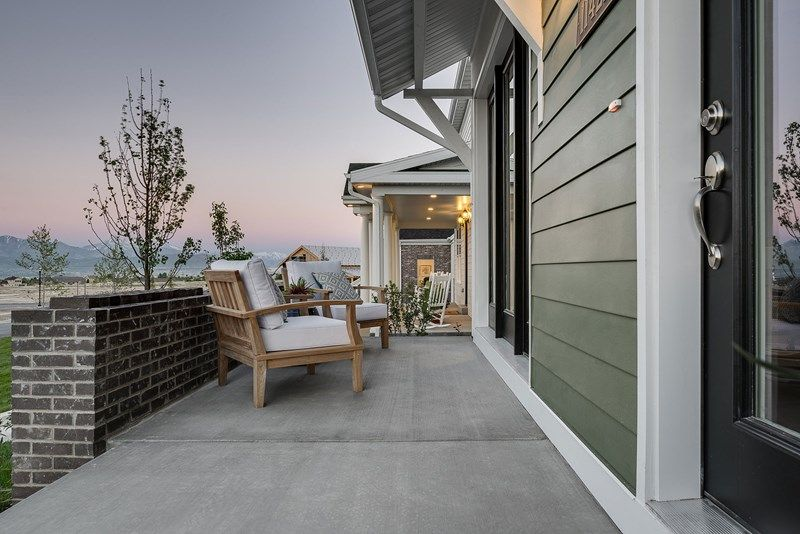 Exterior featured in the Casselton By David Weekley Homes in Salt Lake City-Ogden, UT