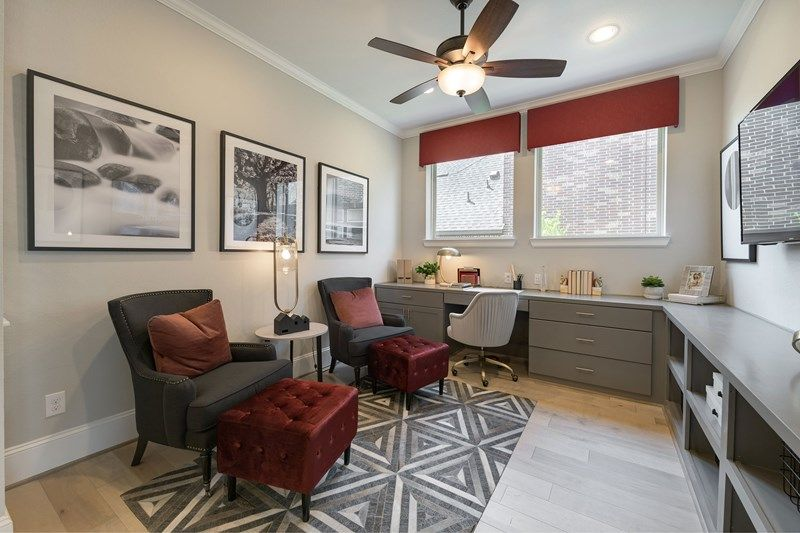 Living Area featured in the Connolly By David Weekley Homes in Houston, TX