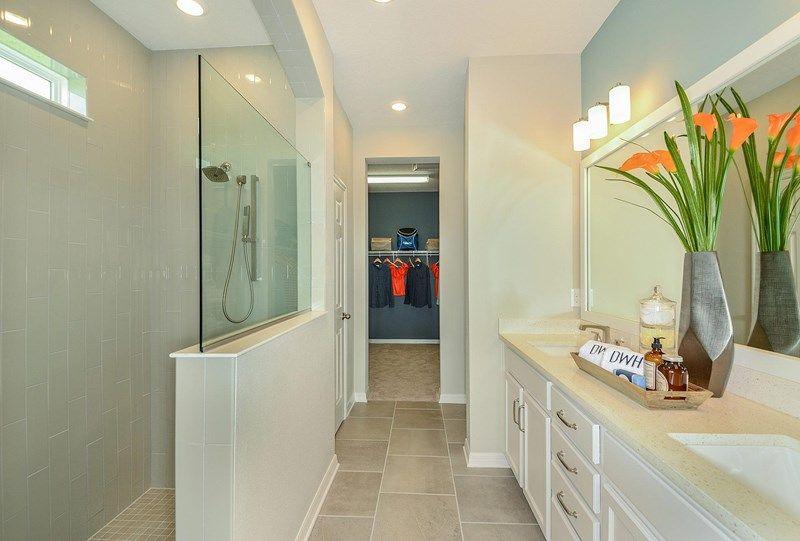 Bathroom featured in the Queensgate By David Weekley Homes in Sarasota-Bradenton, FL