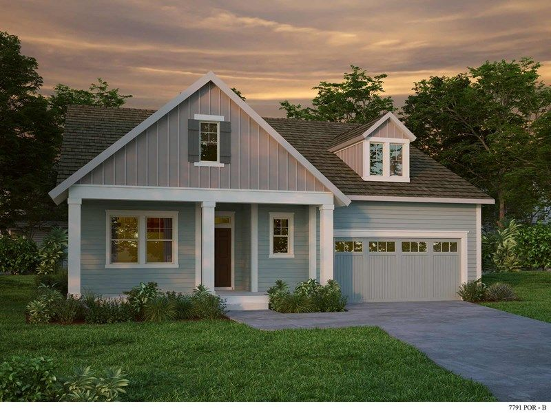 Exterior featured in the Bentley By David Weekley Homes in Portland-Vancouver, WA
