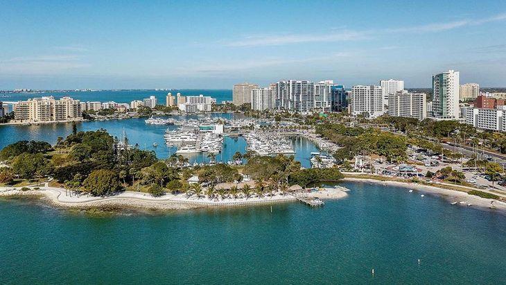 Sarasota Bay and Marina