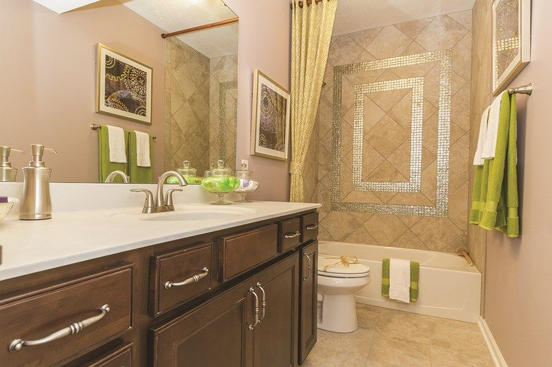Bathroom featured in the Castledale By David Weekley Homes in Indianapolis, IN