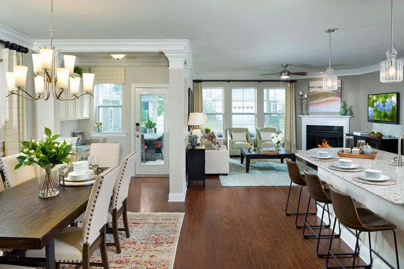Living Area featured in the Lenwood By David Weekley Homes in Charleston, SC