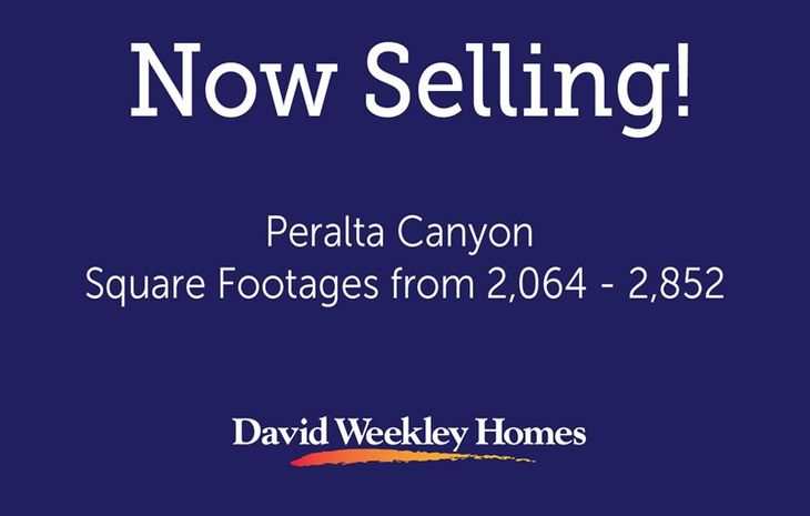 Peralta Canyon - Now Selling
