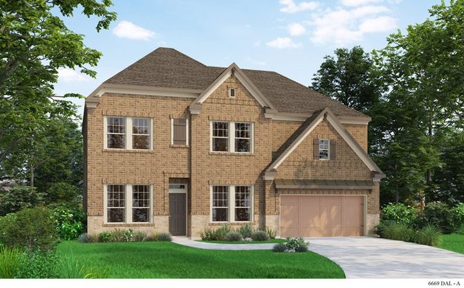 Exterior:The Millbrae - A Elevation