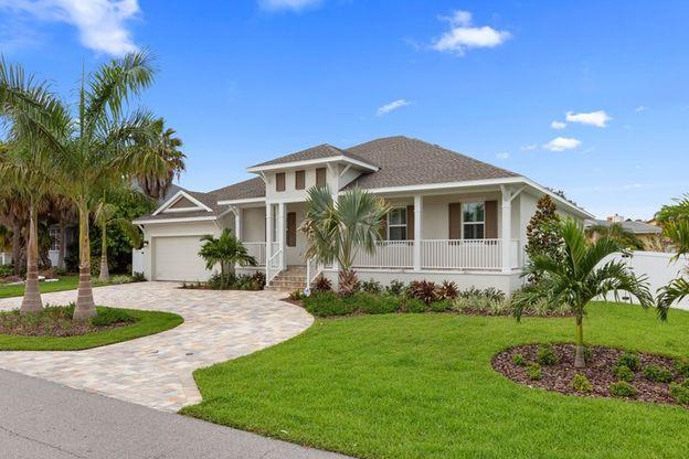 The Shell Key - B Exterior - Tierra Verde In Saint Petersburg, FL, New Homes & Floor Plans By
