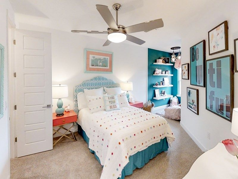Bedroom featured in the Hester By David Weekley Homes in Jacksonville-St. Augustine, FL