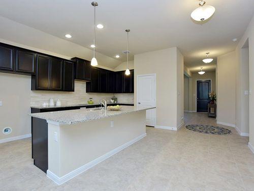 Kitchen-in-Ashleigh-at-Weston Oaks 60'- The Estates-in-San Antonio