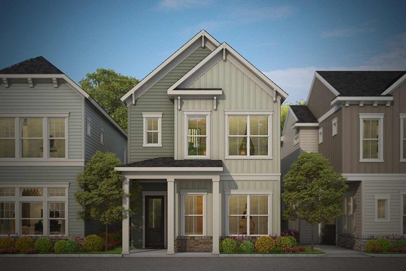 Exterior featured in the Caden By David Weekley Homes in Indianapolis, IN