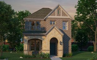 Walsh Cottage by David Weekley Homes in Fort Worth Texas