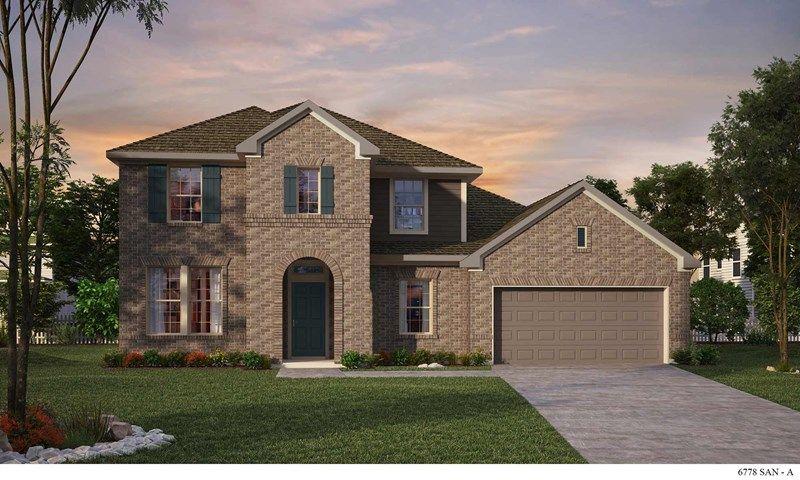 Veramendi 60' in New Braunfels, TX :: New Homes by David Weekley Homes