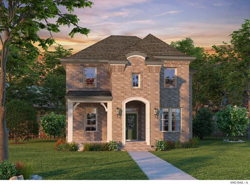 Exterior featured in the Kishell By David Weekley Homes in Fort Worth, TX