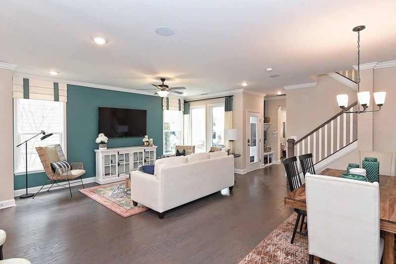 Living Area featured in the Ashland By David Weekley Homes in Charlotte, NC