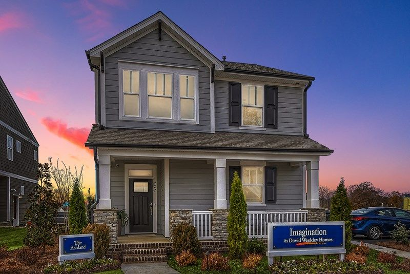 Exterior featured in the Ashland By David Weekley Homes in Charlotte, NC