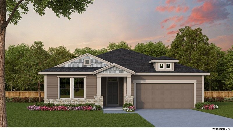 Exterior featured in the Wedgestone By David Weekley Homes in Portland-Vancouver, WA