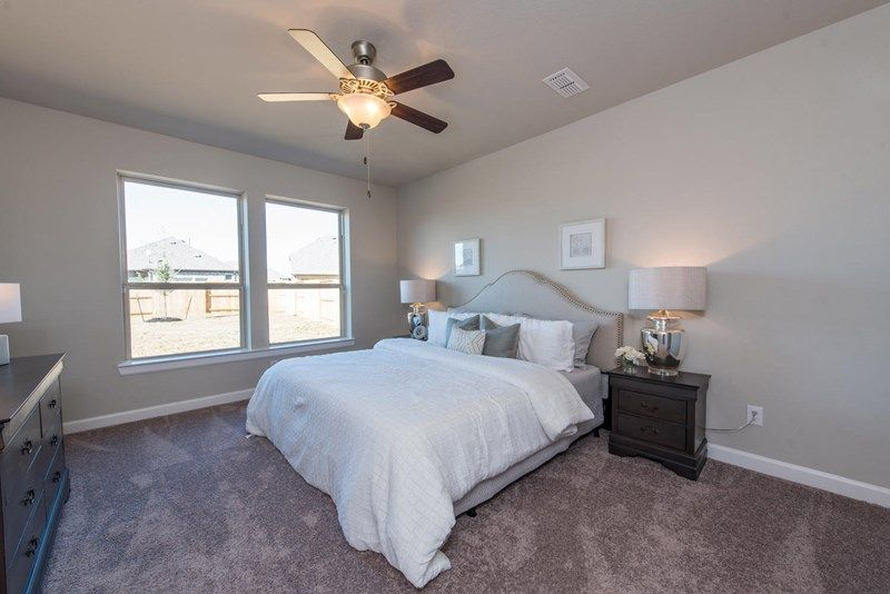Bedroom featured in the Edgeport By David Weekley Homes in Houston, TX