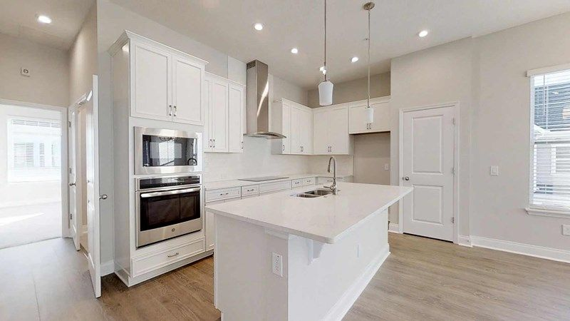 Kitchen-in-Mustang-at-Griffin Park - Townhome Series-in-Lake Mary
