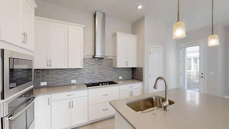 Kitchen-in-Hunter-at-Griffin Park - Townhome Series-in-Lake Mary