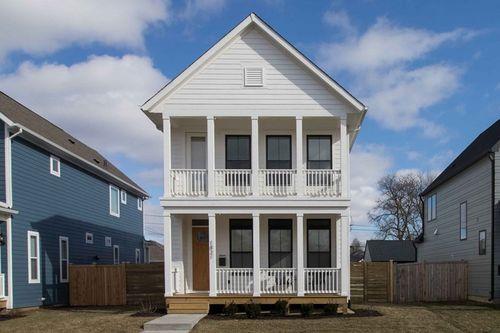Monon 16 by David Weekley Homes in Indianapolis Indiana