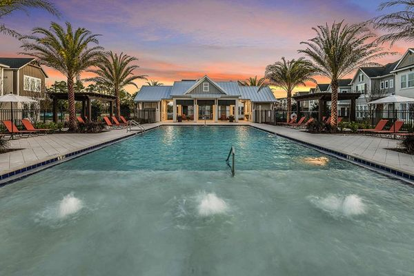The Griffin Park Pool and Cabana