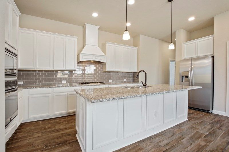 Kitchen-in-Brenton-at-The Reserve at Silver Ranch - Village Series-in-Katy