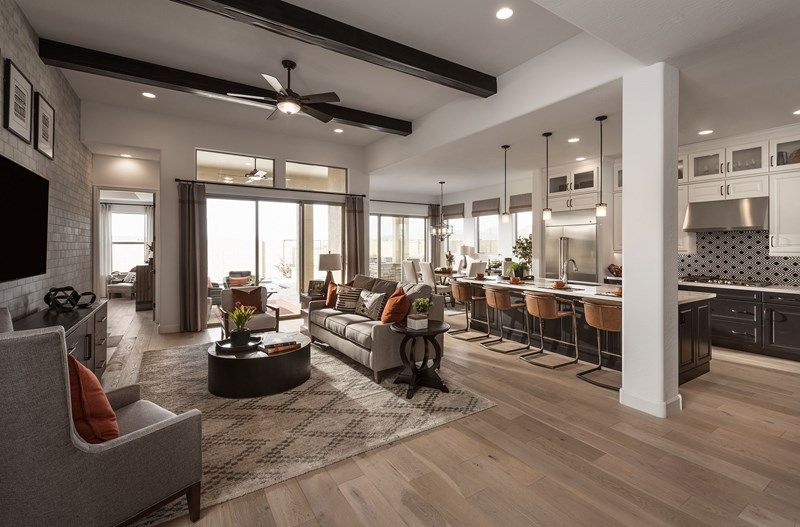 Living Area featured in the Anne By David Weekley Homes in Phoenix-Mesa, AZ