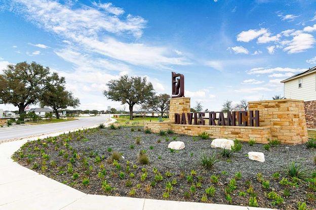 Davis Ranch - Entrance Monument