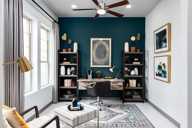 Living Area featured in the Bluebonnet By David Weekley Homes in San Antonio, TX