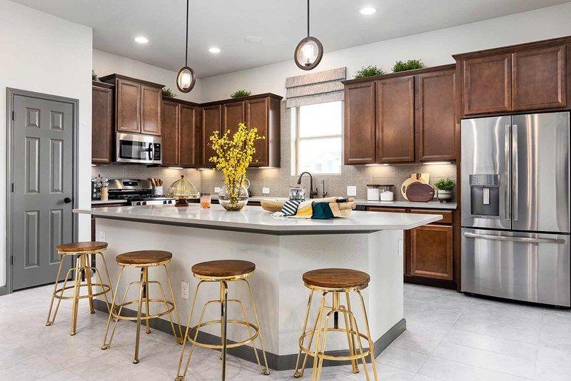 Kitchen featured in the Bluebonnet By David Weekley Homes in San Antonio, TX