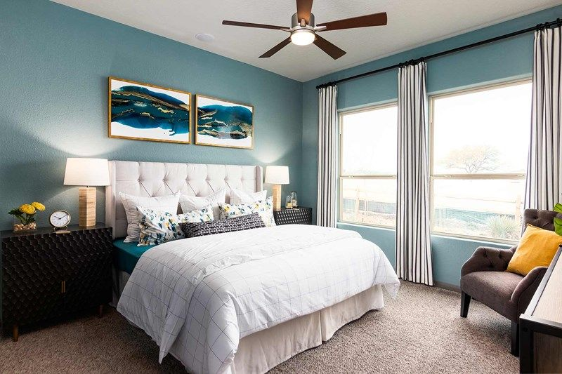 Bedroom featured in the Bluebonnet By David Weekley Homes in San Antonio, TX