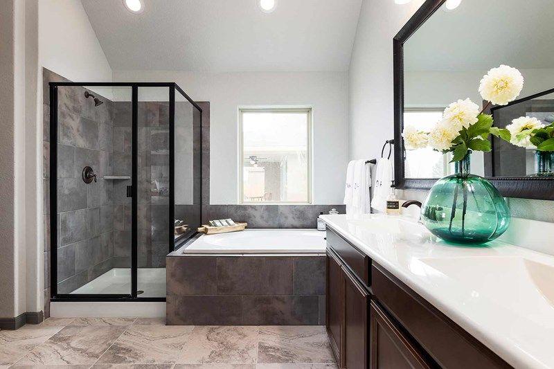Bathroom featured in the Bluebonnet By David Weekley Homes in San Antonio, TX