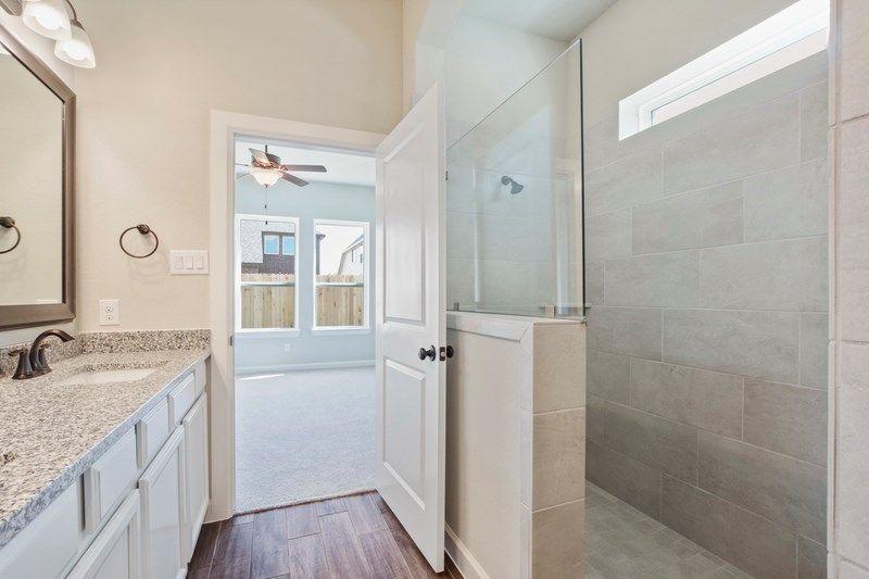 Bathroom featured in the Brenton By David Weekley Homes in Houston, TX
