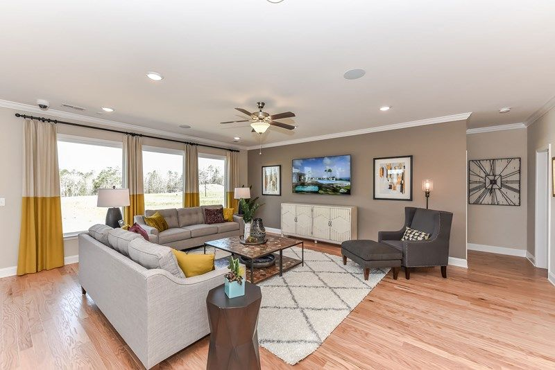 Living Area featured in the Riverwood By David Weekley Homes in Charlotte, SC