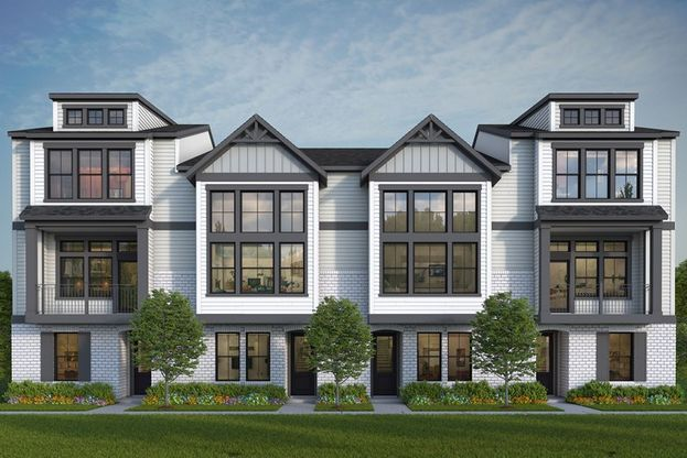 The Harpin and Denny in Hargrove - Townhomes