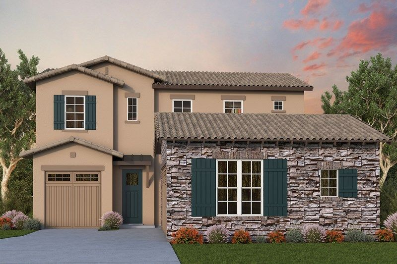 Exterior featured in the Anne By David Weekley Homes in Phoenix-Mesa, AZ
