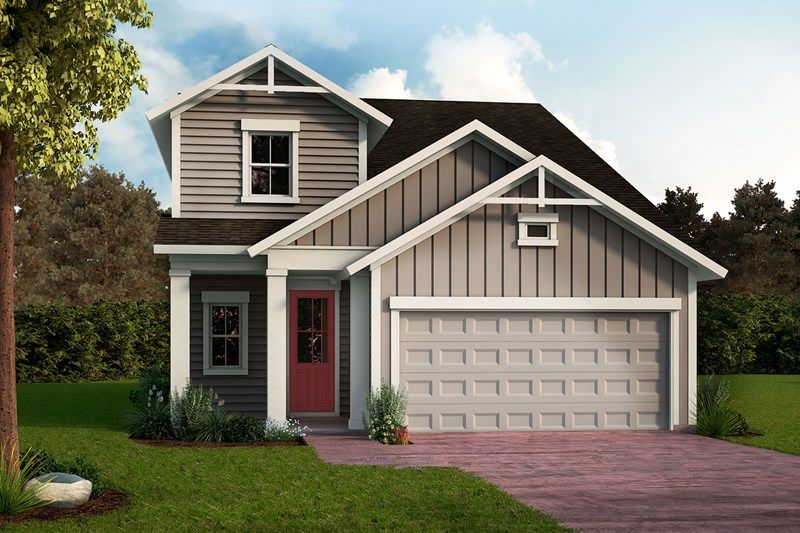 Exterior featured in the Mcclenaghan By David Weekley Homes in Jacksonville-St. Augustine, FL