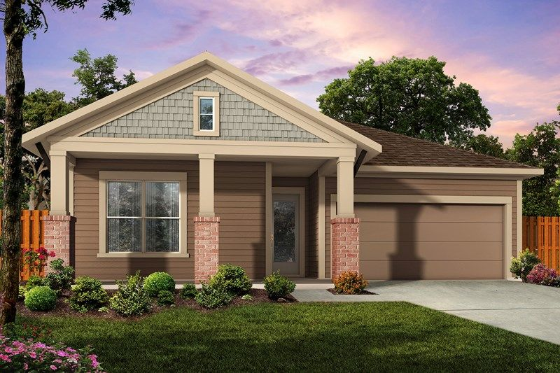 Exterior featured in the Woodleaf By David Weekley Homes in Jacksonville-St. Augustine, FL