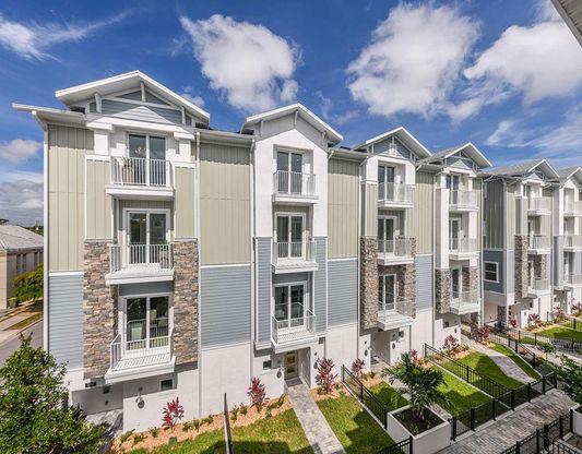 Exterior:Enclave at Laurel Park City Homes