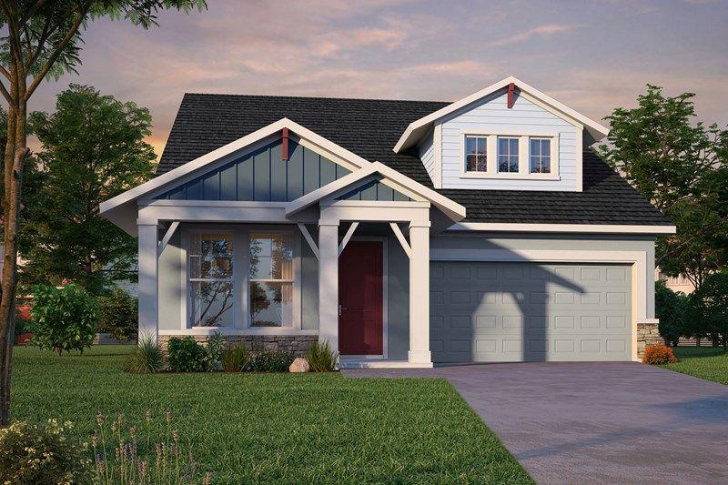 Exterior featured in the Gemstone By David Weekley Homes in Sarasota-Bradenton, FL
