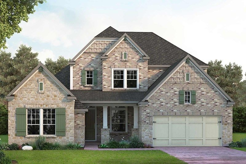 Exterior featured in the Connolly By David Weekley Homes in Houston, TX