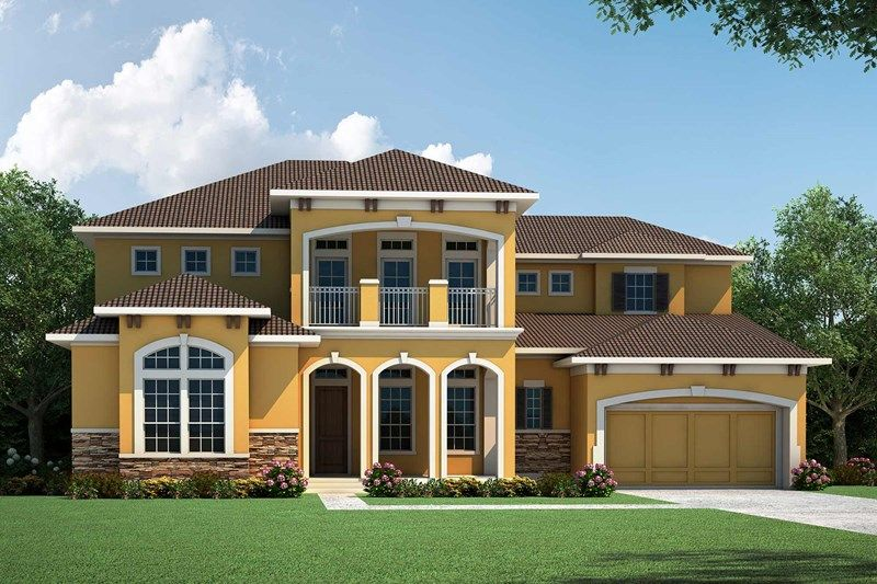 Exterior featured in the Springdale By David Weekley Homes in Houston, TX
