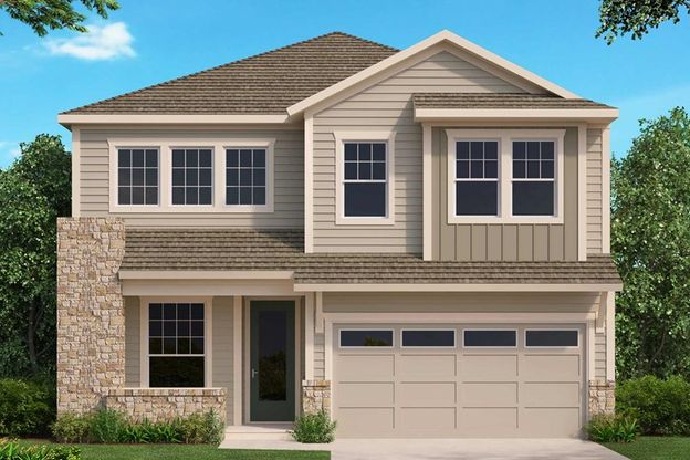 Exterior:The Woodmere - A Exterior