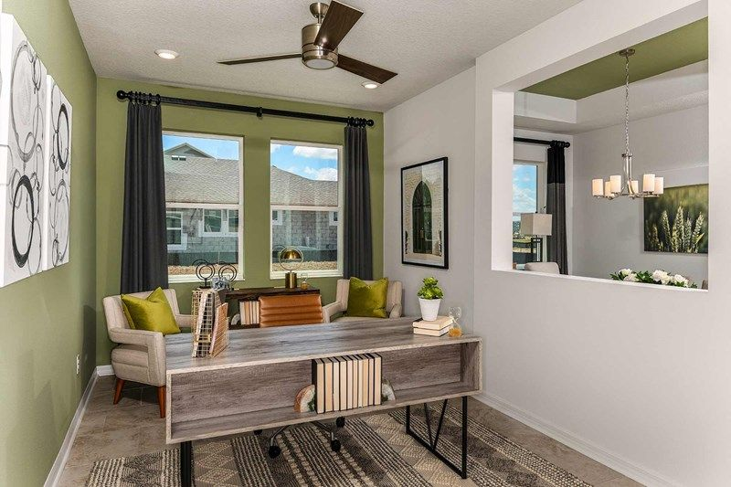 Living Area featured in the Crestview By David Weekley Homes in Sarasota-Bradenton, FL