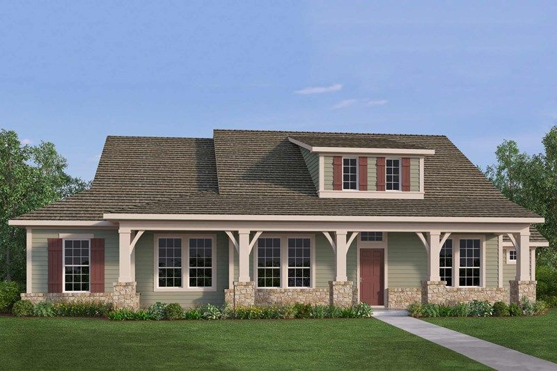 Exterior featured in the Braum By David Weekley Homes in Houston, TX