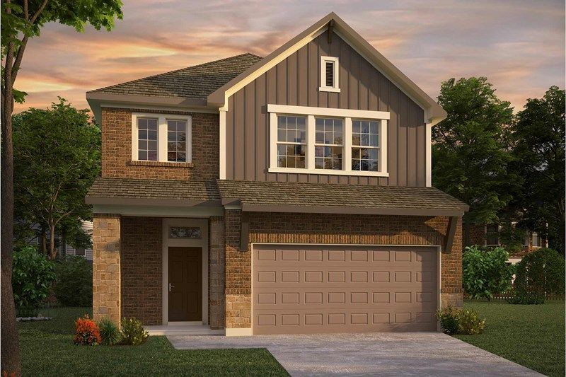 Exterior featured in the Burberry By David Weekley Homes in Houston, TX
