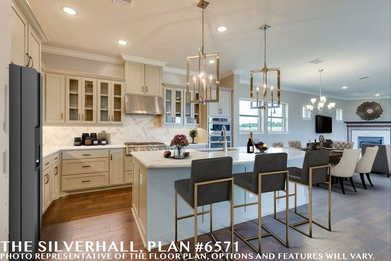 Kitchen featured in the Silverhall By David Weekley Homes in Fort Worth, TX