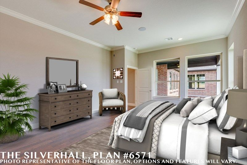 Bedroom featured in the Silverhall By David Weekley Homes in Fort Worth, TX