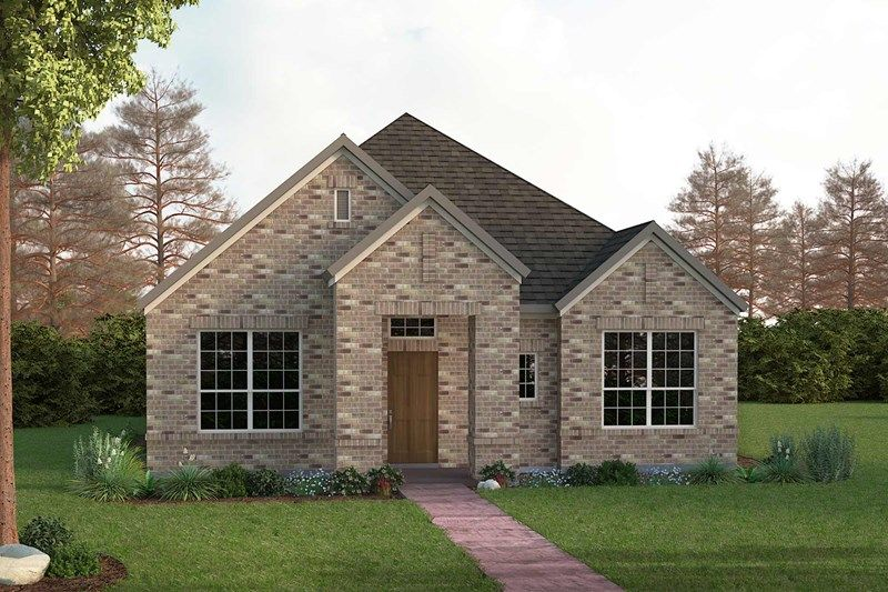 Exterior featured in the Glencrest By David Weekley Homes in Fort Worth, TX